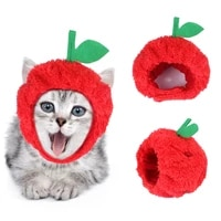apple pineapple cat dog headgear pet supplies cat flamingo funny photo props for puppy small dogs cats headwear pet accessories