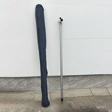 Poteau universel noir et blanc de 2.4 mètres en Fiber de carbone à trois positions