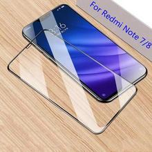 HD Full Cover Tempered Glass For Redmi 7 Redmi 8 Redmi 7 Pro Redmi Note7 Note8 Precise positioning Protect Mobile Phones Better