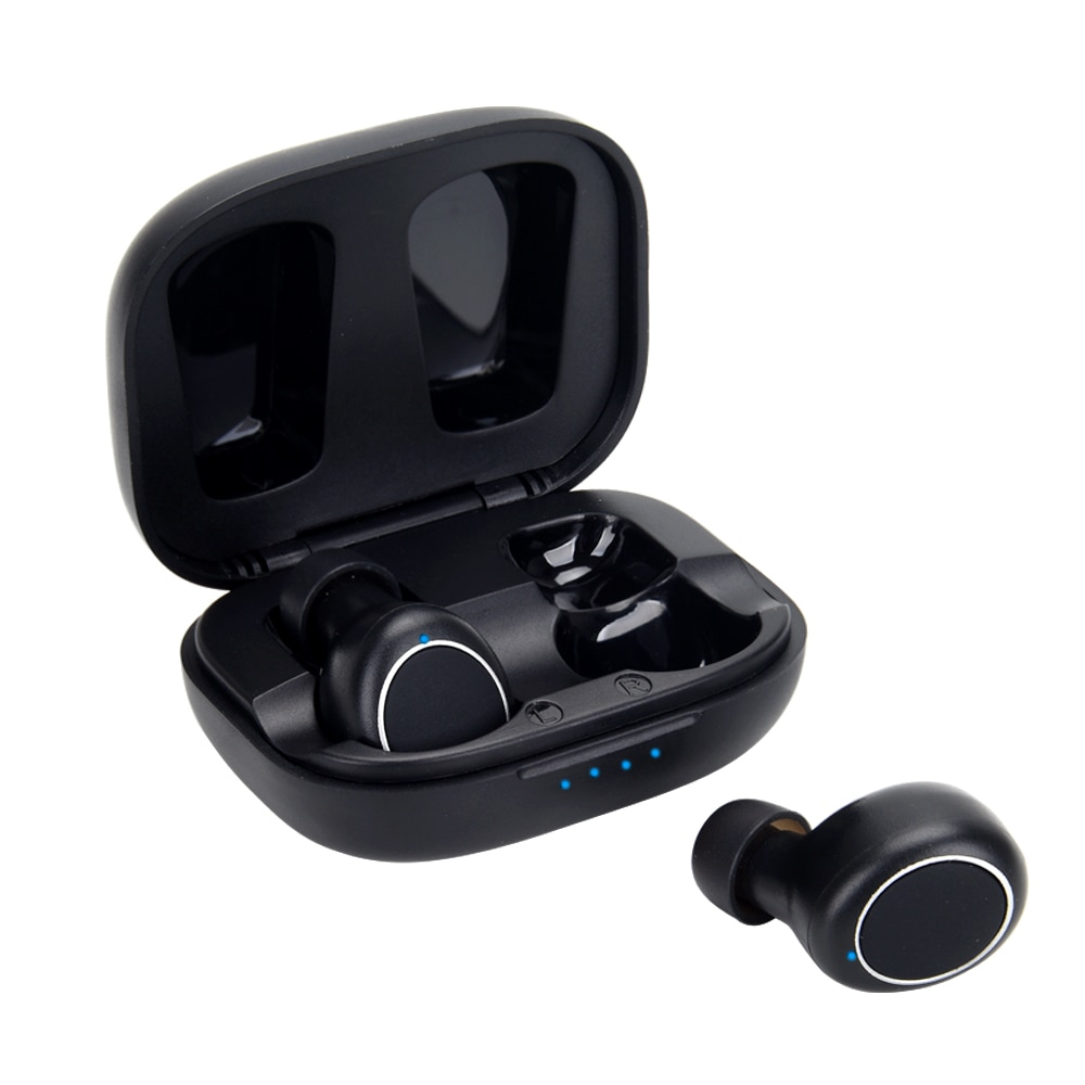 MT01 TWS Bluetooth 5.0 Earphones Stereo Wireless Earbuds With Chargebox MEMS Noise Cancelling Gaming