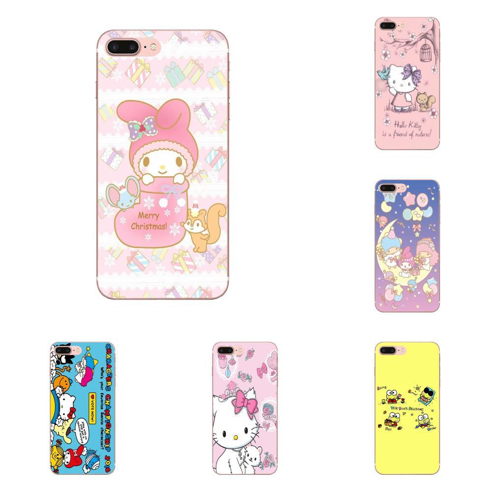Für Apple iPhone 11 Pro X XS Max XR 4 4S 5 5C 5S SE SE2 6 6S 7 8 Plus Nette Telefon Fall Sanrio Zeichen