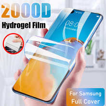Screen Protector For Huawei P40 Pro P30 Lite P20 Protective Hydrogel Film Mate 40 30 20 Pro Lite P 40 30 Smart 2019 Z Not Glass