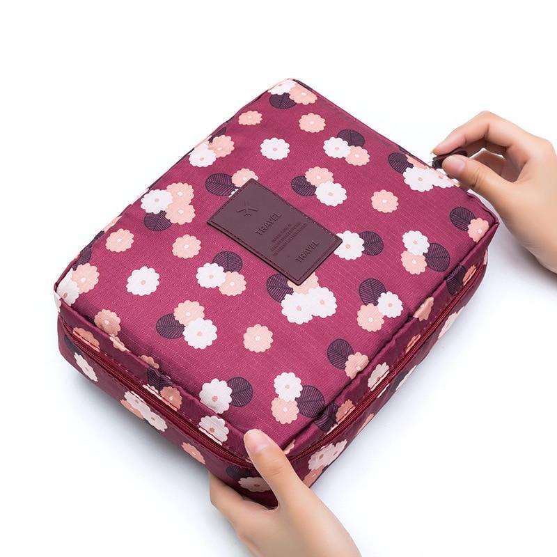 Waterproof Portable Travel Cosmetic Bag Wash Bag Bathroom Wash Bag Makeup Wash Bag Storage Bag Travel Accessories