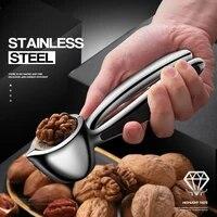 portable nut cracker kitchen gadgets tool sheller almond walnut hazelnut opener metal opener nutcracker kitchen accessories