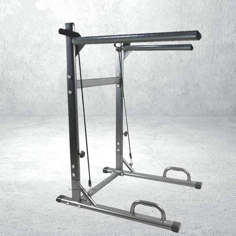 Barra de gimnasio, barra de ejercicio multifuncional, barra de ejercicio, soporte de inmersión Horizontal ajustable, estación de inmersión de barra paralelo