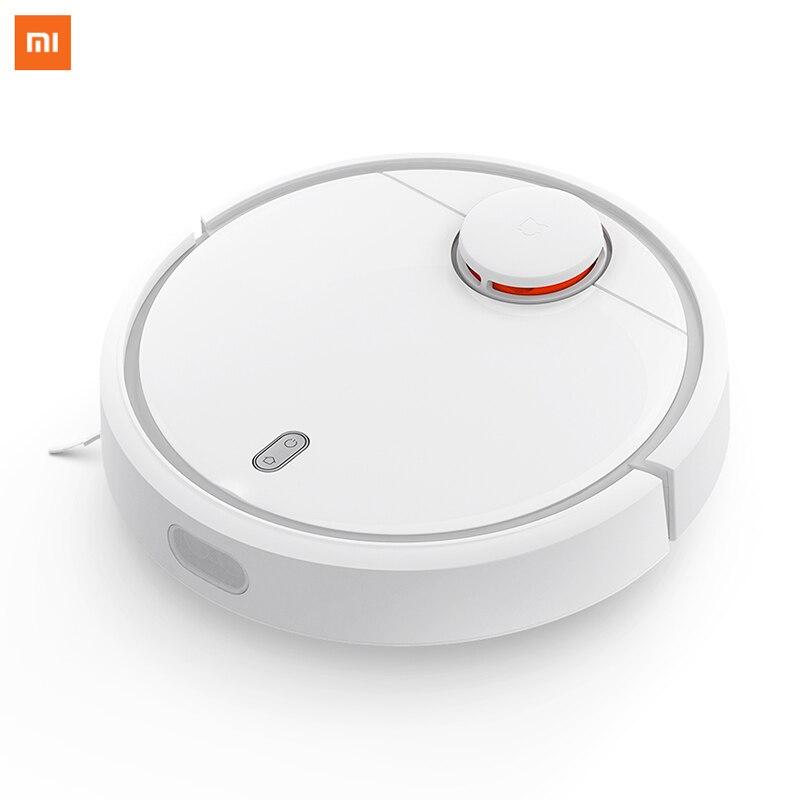 Original xiaomi mi robô aspirador de pó mi inteligente planejado tipo wifi app controle carga automática lds digitalização mapeamento
