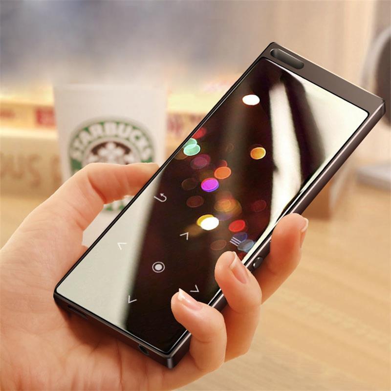 Bluetooth5.0 MP4 لاعب مع المتكلم 1.8 بوصة شاشة تعمل باللمس زر MP4 مشغل فيديو دعم FM ، مسجل ، SD/TF بطاقة تصل إلى