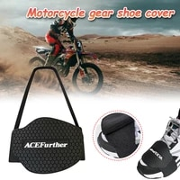 1pcs motorcycle shoes protective pad anti skid motorbike gear shifter men shoe boots protector shift boot cover shifter guards