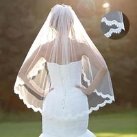 girls headwear luxury bridal tulle bridal veil whiteivory wedding veil with hair comb cathedral head veil accessories