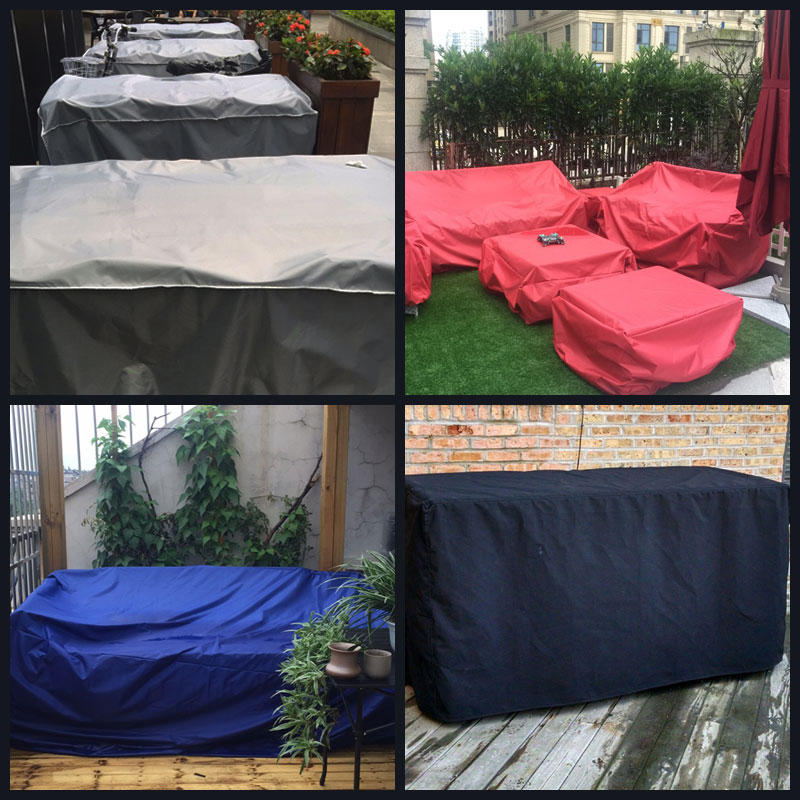 Customized Outdoor Furniture Rain Cover Outdoor Table and Chair Cover Dust Cover Protective Cover Sofa Sun Protection Cover enlarge