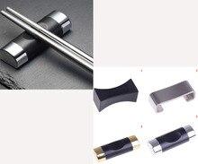 Visuel tactile alliage chinois baguettes reste porte-baguettes cuillère support support oreiller forme cadre Art artisanat cuisine outils