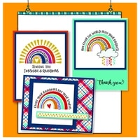 sunshine rainbow clouds transparent silicone clear stamp for scrapbooking diy craft decoration soft stamp
