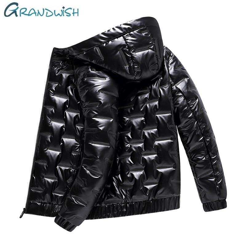 Winter Men Jacket Duck Down Parkas Jacket Men's Thick Warm Snow Parka Detachable Hooded Overcoat Windbreaker Warm Coats;ZA442