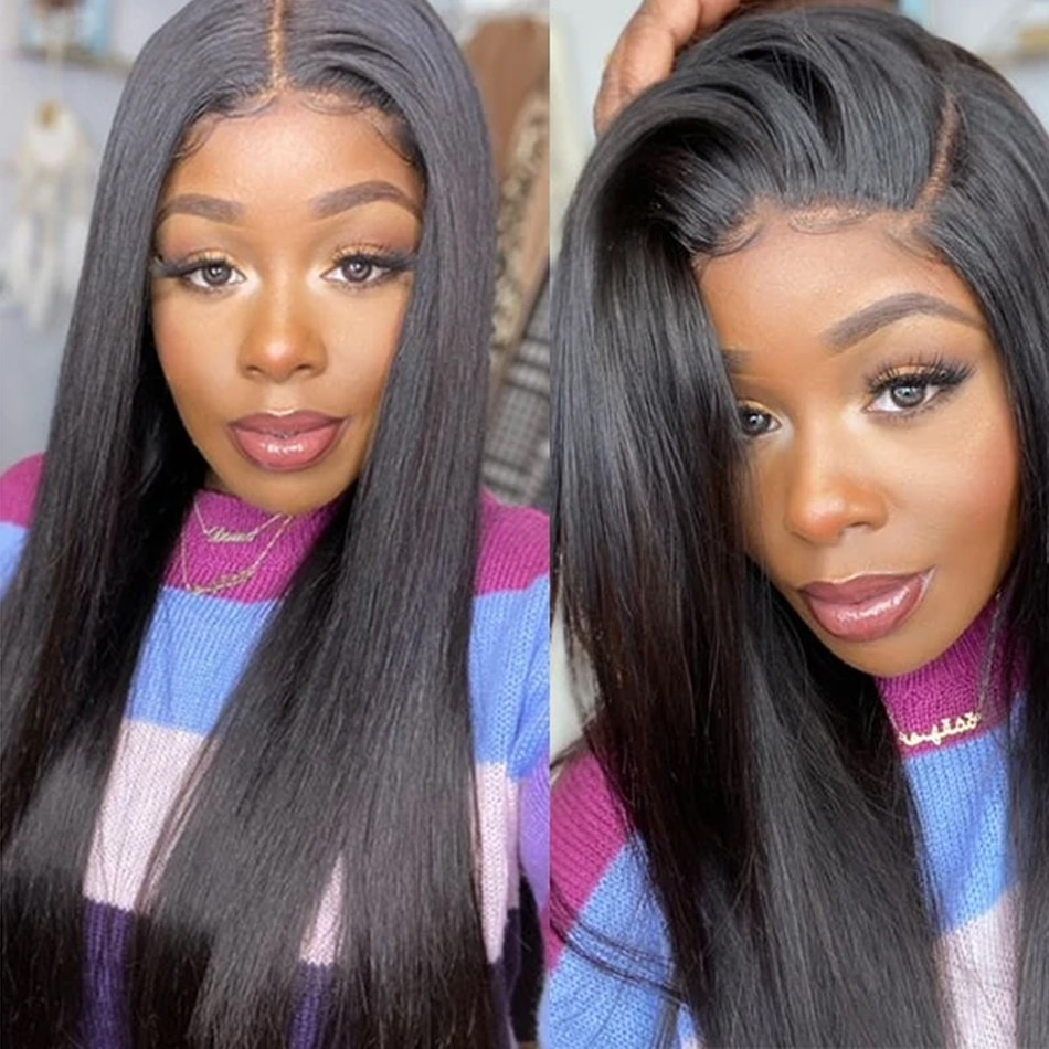 UNice Hair Straight Hair Wigs Three Part Lace Part Wig Pre Plucked Lace Part Wig Best Human Hair Wigs