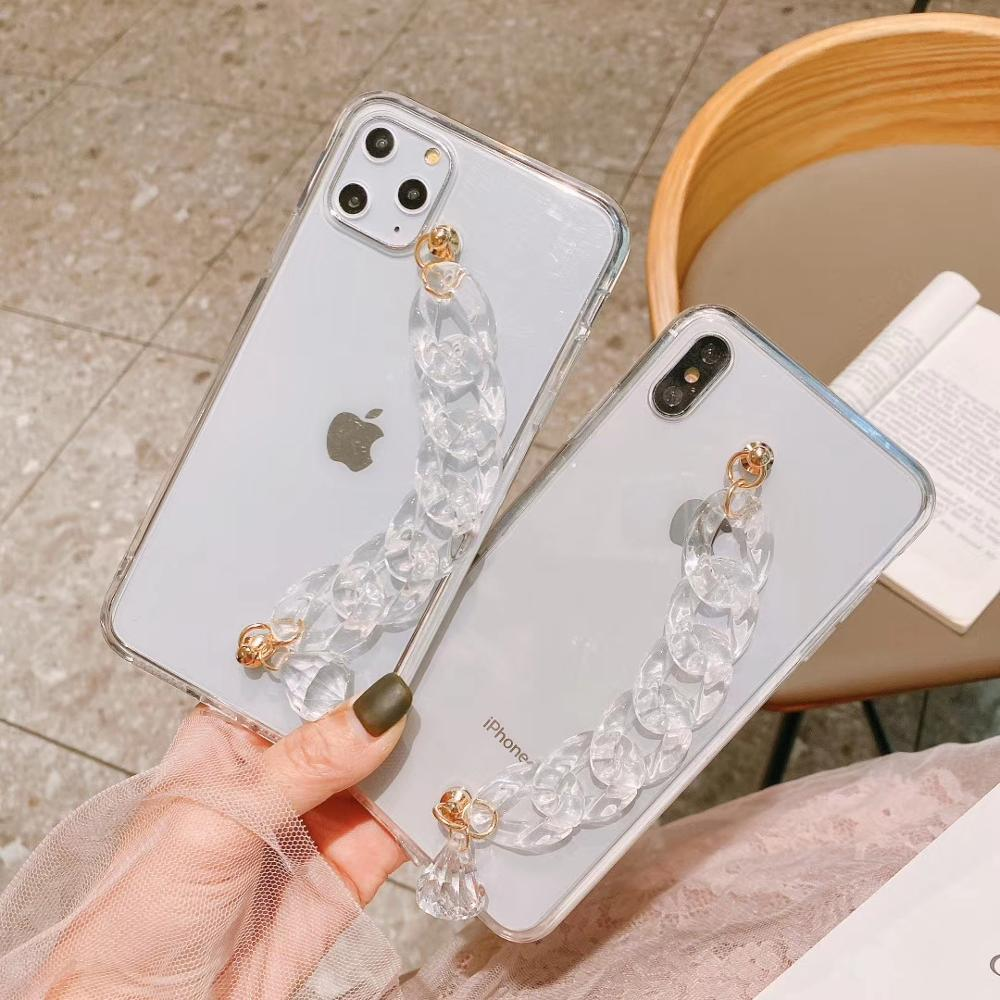 Funda de cristal para Huawei P30 P40 P20 P10 Pro LiTE, pulsera de diamantes de imitación ostentosa para mujer, funda para Huawei Mate30 20 Pro Lite