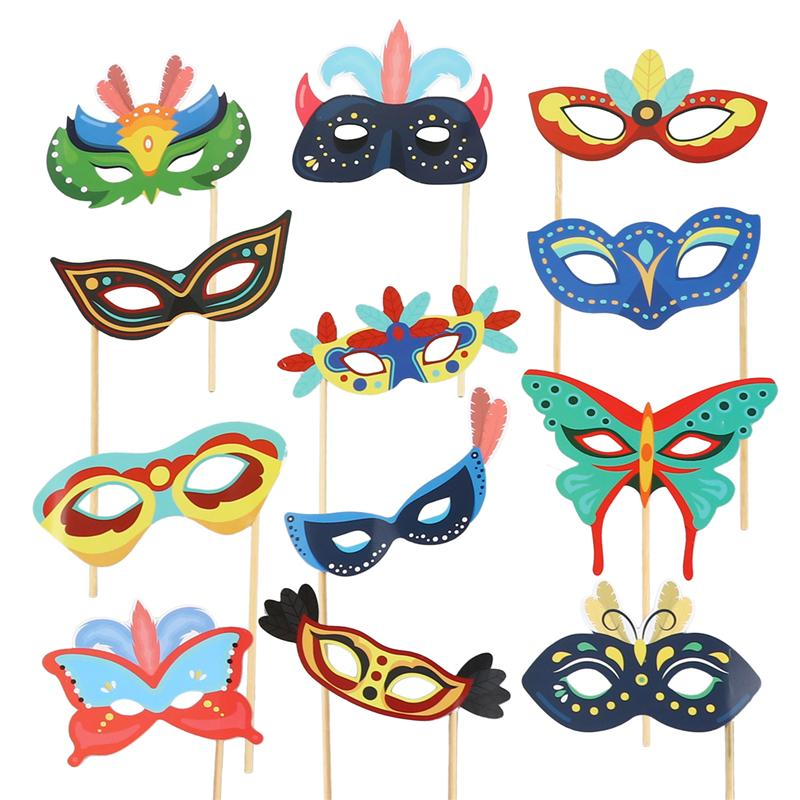 2 Juego de accesorios para fotos de papel de mano accesorios de fotografía artículos para fiestas festejos accesorios para adornos