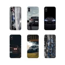 Автомобиль Nissan Skyline GTR R34 для Xiaomi Redmi 4A S2 Note 3 3S 4 4X5 6plus 7 6A Pro Pocophone F1 аксессуары для мобильного телефона чехлы