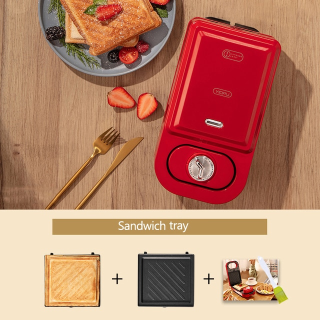 Электрическая машина для производства сэндвич завтрака машина бытовой вакуумный упаковщик светильник Еда мульти-Функция вафельница такояки тостов Давление тостер|Бытовая техника|| | АлиЭкспресс