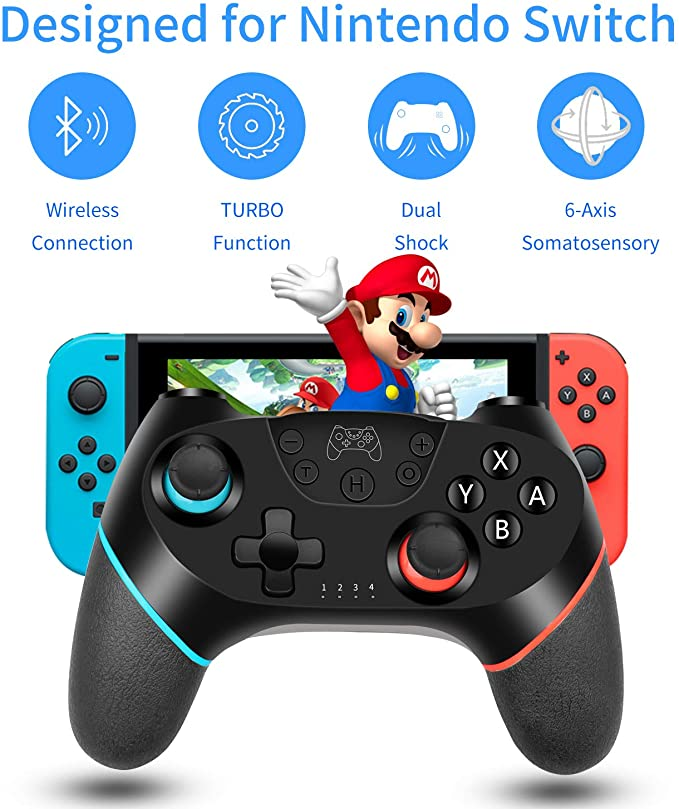 Wireless Joystick For NS Switch Pro Controller Switch Remote Gamepad RegeMoudal Wireless Controller
