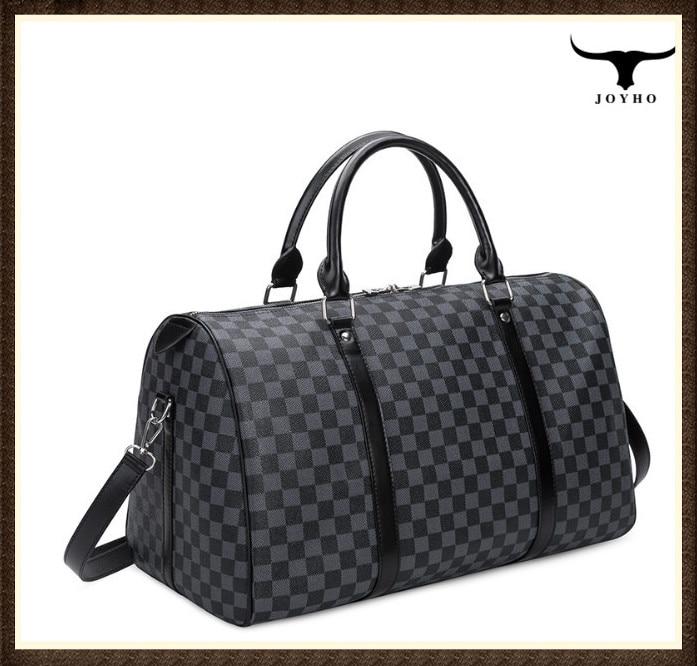 Fashion Travel Bag Men Women Classic PU Leather luggage bag female portable large capacity lightweig