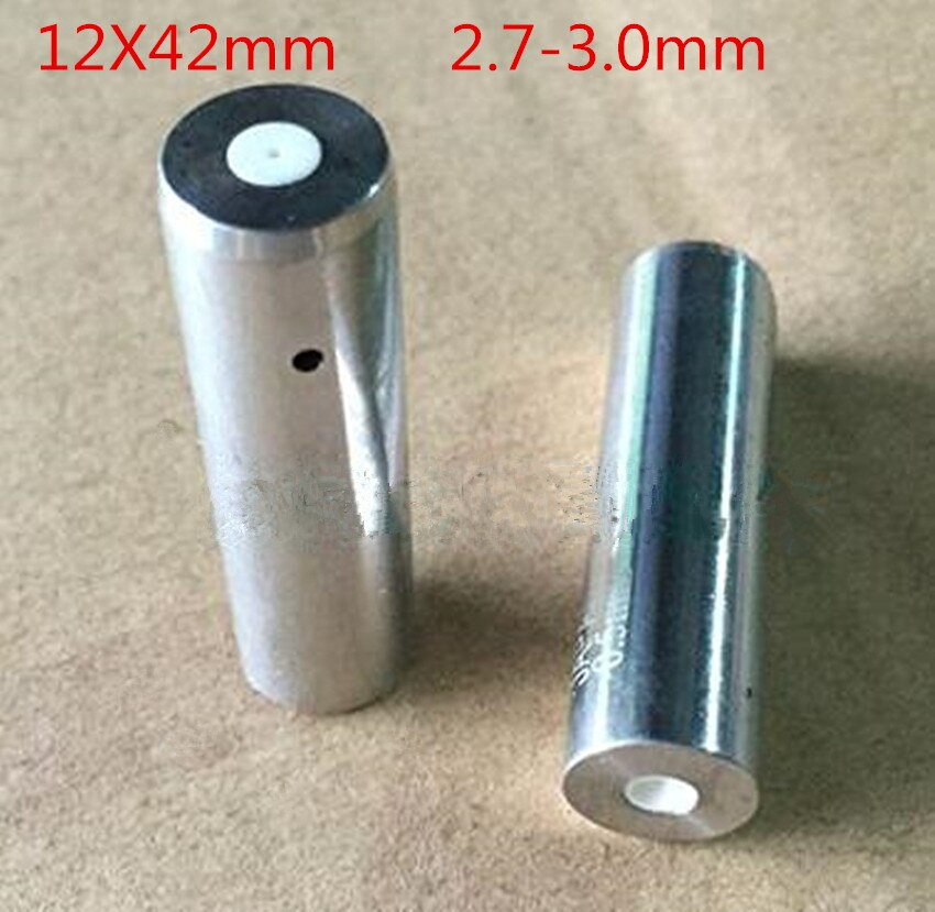 2pcs EDM Machine Ceramic Guide 12X42mm 2.7-3.0mm Guide Tube For Drill Guide For EDM Drilling Machine birdfeeder guide