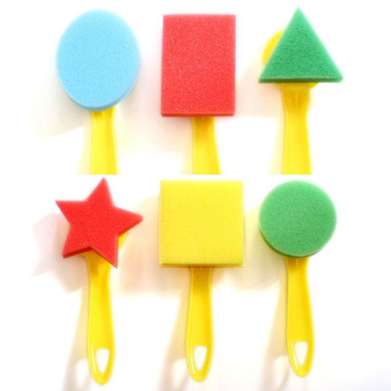 Sponge Seals Educational Toys for Children Kids Juguetes Boys Girls Arts and Crafts Painting Learnin