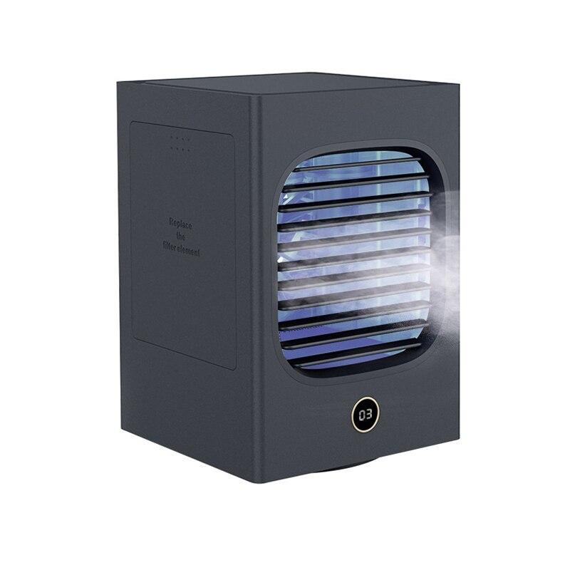 مراوح كهربائية مبرد الهواء مع 180 مللي خزان المياه المحمولة دائم سهل الاستخدام طويل الأمد لغرفة المنزل عناق