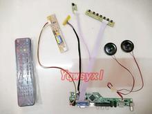 Yqwsyxl, Kit de altavoces para LTN154AT01-001 TV + HDMI + VGA + AV + USB, pantalla LED LCD, tablero controlador