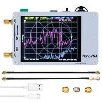 Portable Vector Network Analyzer 50KHz-900MHz Digital Touching Screen Shortwave MF HF VHF UHF Antenna Analyzer Standing Waves