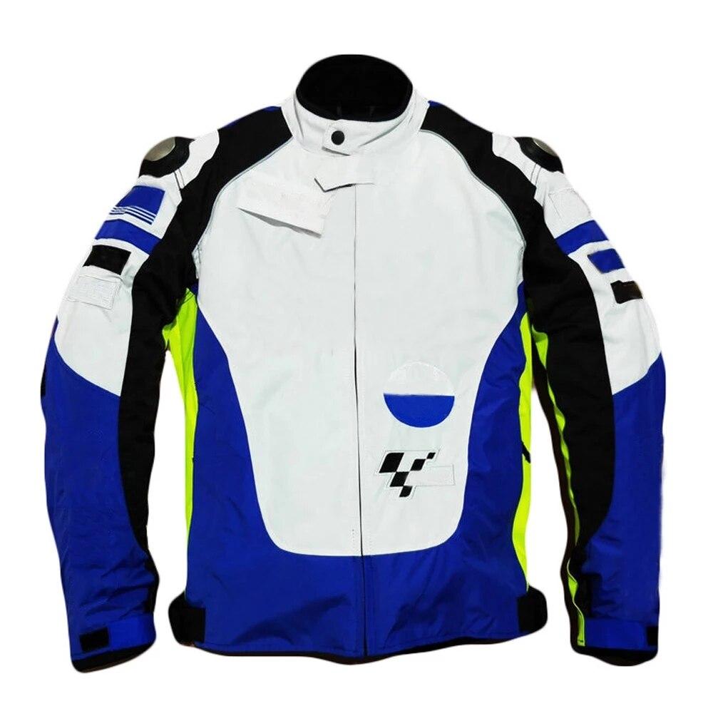 سترة سباق الدراجات النارية مع الشحن المجاني ، ملابس فريق YAMAHA ، معطف مقاوم للرياح ، شبكة واقية ، الصيف ، الشتاء