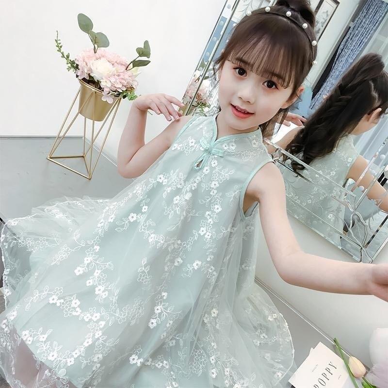 Robe dété pour filles Style bohême plage robe en dentelle enfants maille robes de mariée adolescente vêtements 6 8 10 12 14 ans infantil