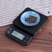 Bluetooth Smart APP еда питание кухонные весы Таймер кофе весы 3 кг
