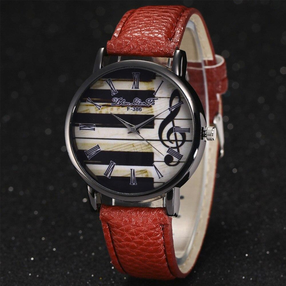 Relojes de moda para mujer, reloj de pulsera de cuero de cuarzo para mujer, reloj de vestir Simple para mujer, reloj de vestir para chicas, reloj, reloj 2019