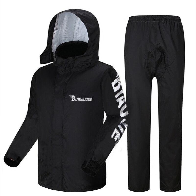 Motorcycle Raincoat Male Riding Split Waterproof Storm Rain Coat Pants Set  Jacket Rainwear Capa De Chuva Motoqueiro Gift Ideas enlarge