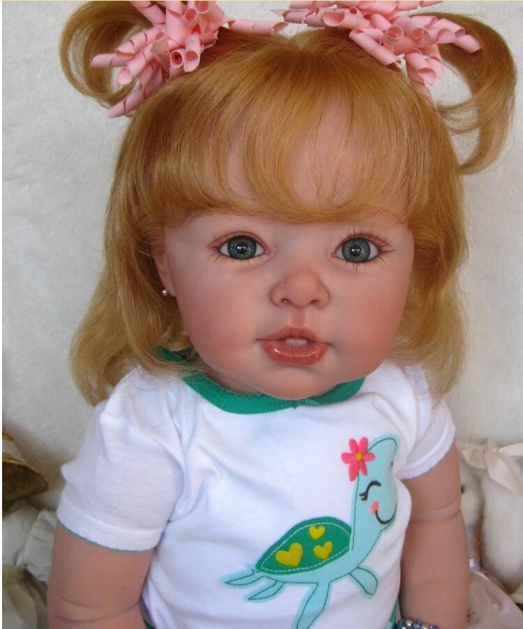 Kits de muñecas Reborn NPK de 28 pulgadas de Vinilo Suave para bebés recién nacidos, accesorios de moldes, piezas de muñecas de juguete DIY sin pintar