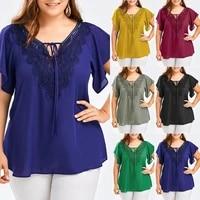 xl 5xl big plus size womens female fashion casual loose tops shirts blouse shirts