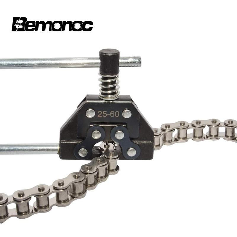 Bemonoc, separador de cadena de rodillos, cortador para motocicleta, bicicleta Go Kart, ATV, cadenas de repuesto #25 #35 #41 #40 #50 #60 415H,428H