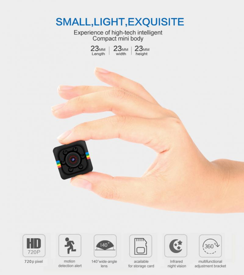 720P Small Cam Micro Camera Video Motion DVR Recorder SQ11 Mini IP Camera Sport DV Sensor Night Visi