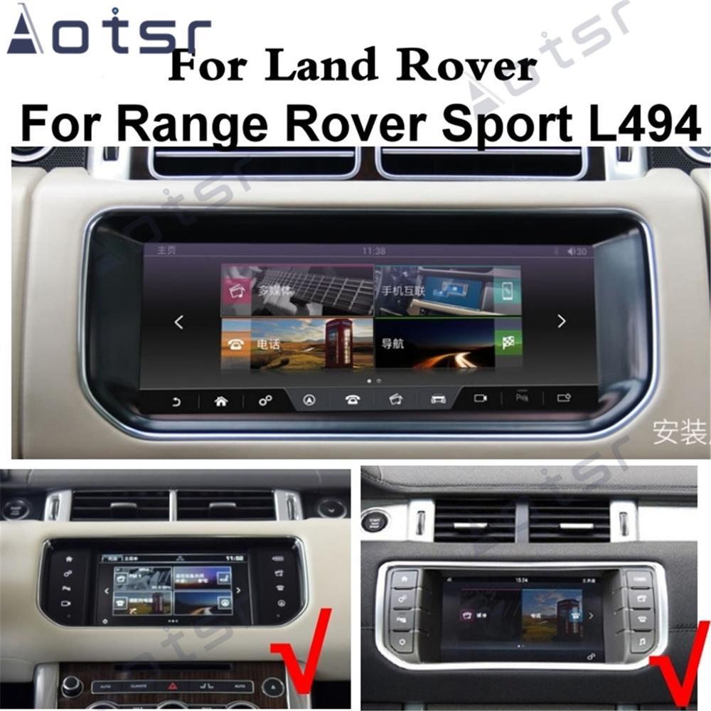 Android 10.0 CarPlay Car Radio Multimedia Player For Land Rover Range Rover Sport L494 SVR 2013~2019 Radio Screen GPS Navigation