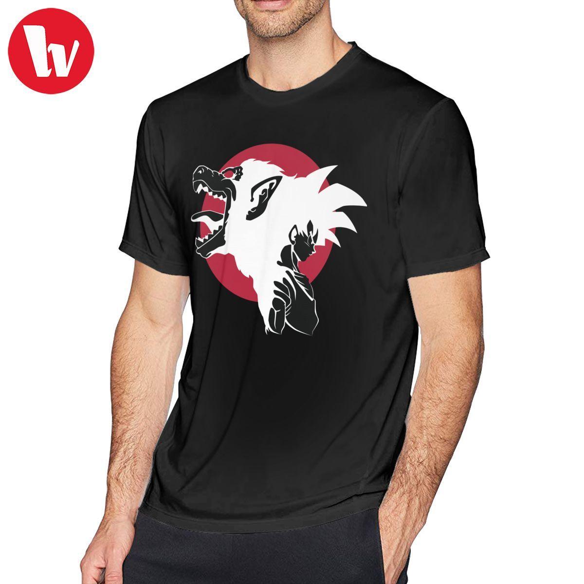 Camiseta de Korn, Super camiseta con mono Goku, divertida camiseta de manga corta, camiseta Casual estampada para hombres, camiseta 100 de algodón