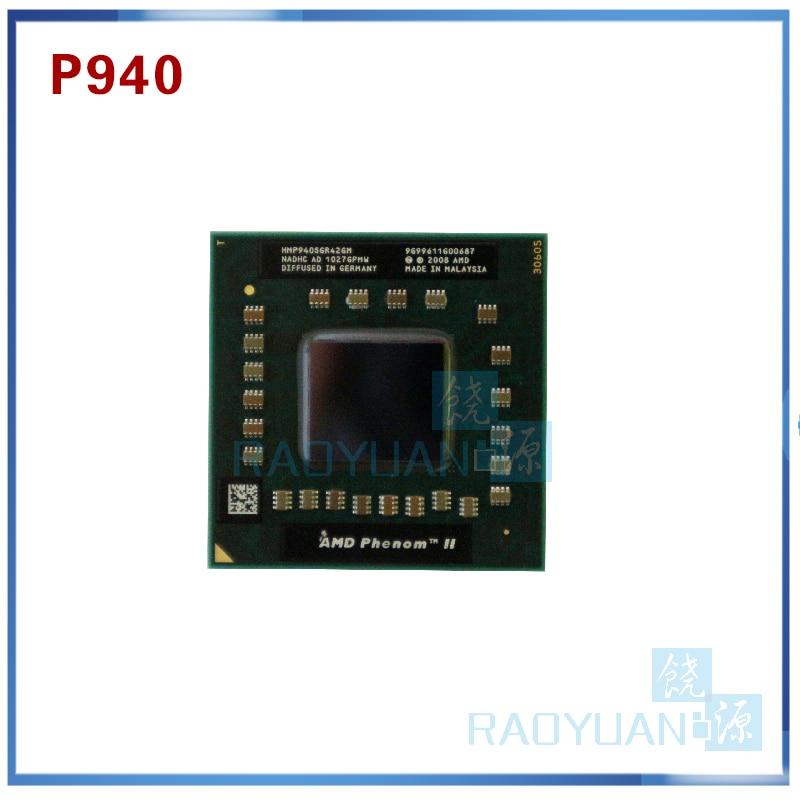 Portátil cpu procesador AMD P940 HMP940SGR42GM 1,7 GHz 2MB Quad Core Socket S1 (S1g4) PGA638