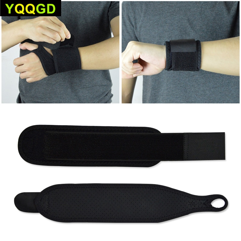 tcare reversible sports wrist brace thumb stabilizer adjustable wrist support wrap volleyball badminton basketball weightlifting 1Pcs Reversible Sports Wrist Brace, Fitted Right / Left Thumb Stabilizer, Adjustable Wrist Support  - For Women and Men