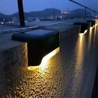 8pcs led solar light outdoor solar lamp with motion sensor solar powered sunlight spotlights for garden decor