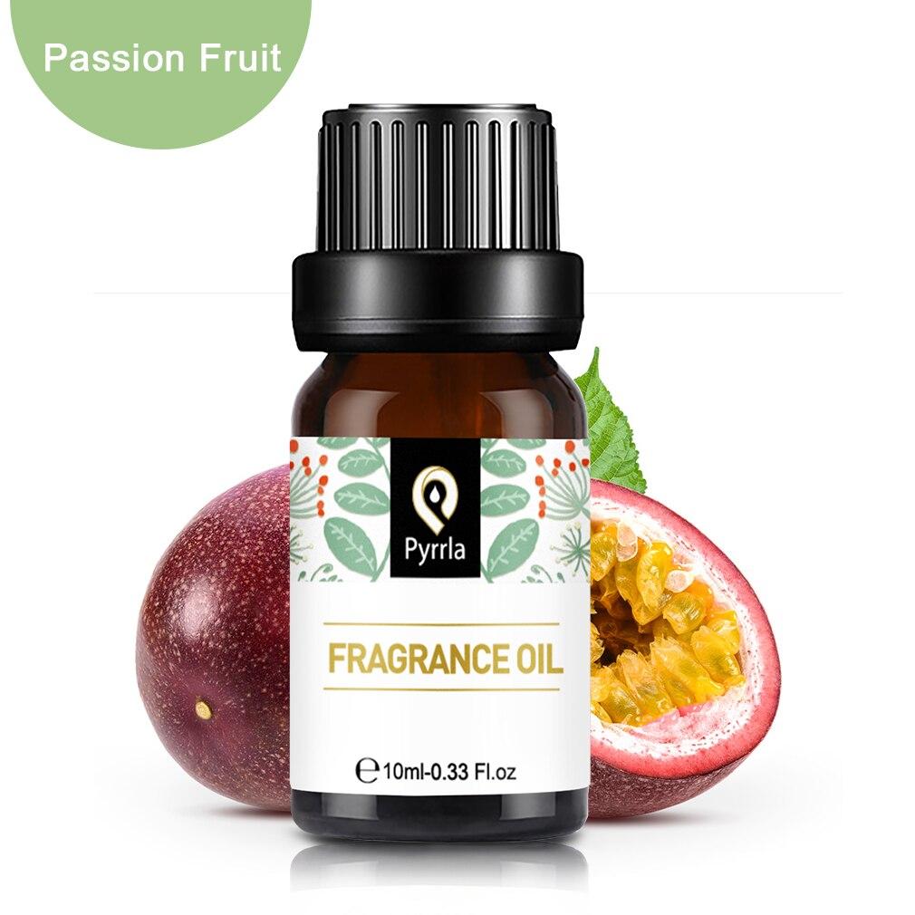 Aceite Esencial pyrlla 10ml de fruta de la Pasión Citrus Lemon Lime Dewberry aceite esencial flor fruta fragancia aceite para aromaterapia lámpara humidificador