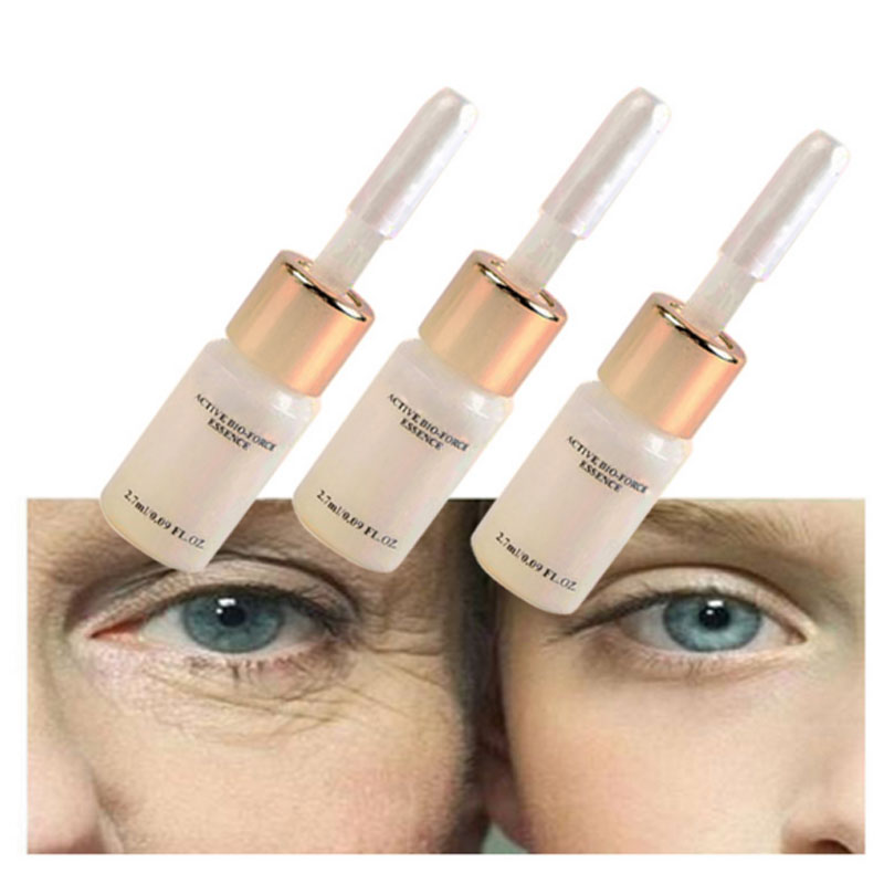 Купить с кэшбэком 3 PCS Eyes Care Products Magic Anti Aging Anti Wrinkle Liquid Lift Face Cream Argireline Cream Hyaluronic Acid Serum