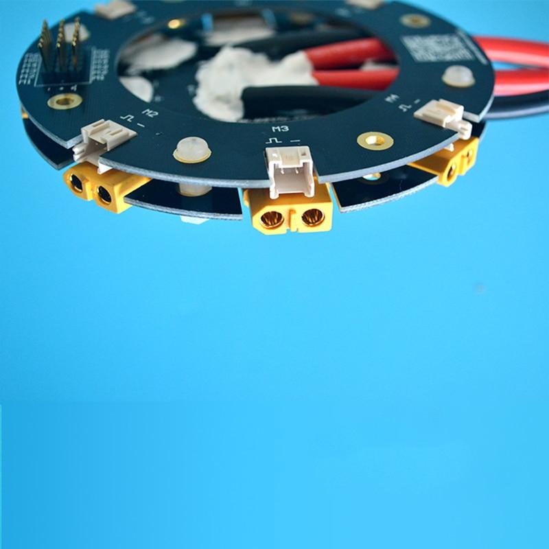1 Uds ESC tablero de distribución línea de alta corriente 180A/120A M3 agujero de montaje Chapado en cobre para RC agricultura UAV planta Drone