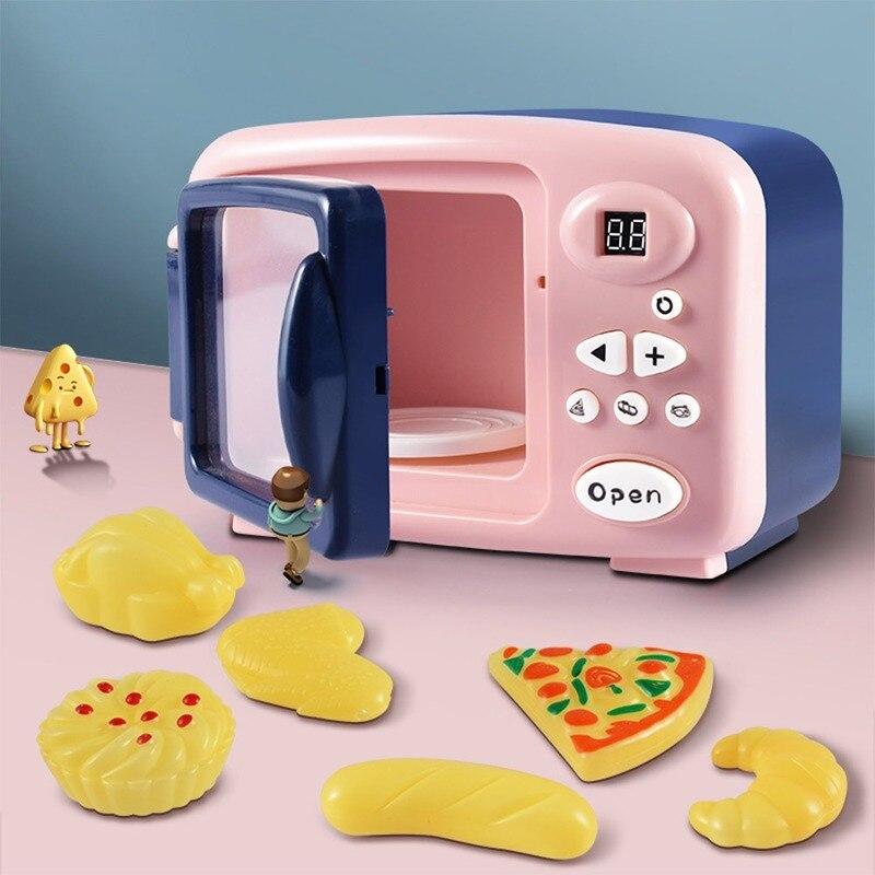 Детские игрушки для приготовления пищи в микроволновой печи, домик для обучения, игрушки для кухни