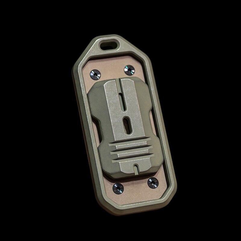 Muyi Slider PPP Titanium Alloy EDC Magnetic Fingertip Toy Decompression Artifact enlarge