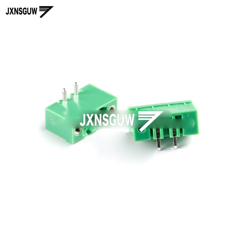 10PCS KF2EDGRM-5.08-2/3/4/5/6/7-12P/ Curved needle socket With ears 5.08mm Terminal block PCB CONNECTOR PLUG-IN TEMINAL BLOCK