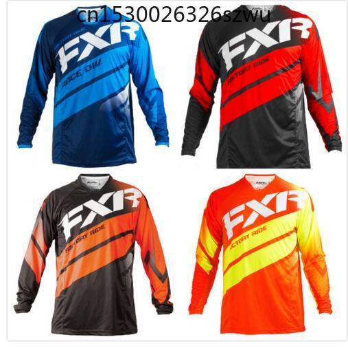FXR-Camiseta de Motocross para hombre y mujer, ropa de Moto, todoterreno, de...